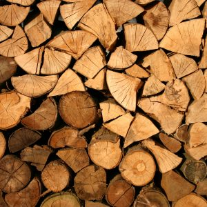 Canva - Brown Firewood