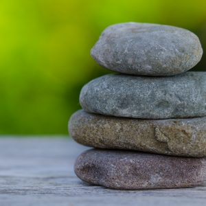 Canva - Selective Focus Photography of Stack Stones